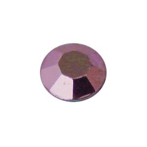 Halvány lila fém szegecs strassz hőre olvadó ragasztóbevonattal