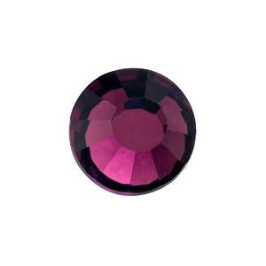 vasalható mély lila strasszkő
