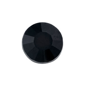 vasalható fekete strasszkő