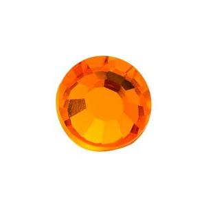 vasalható élénk narancs strasszkő