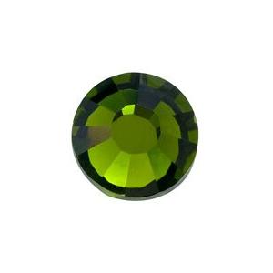 vasalható sötét zöld strasszkő