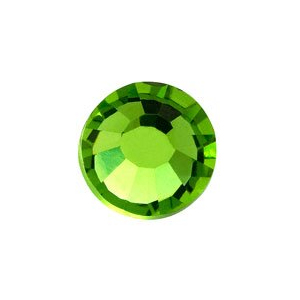 vasalható világos zöld strasszkő