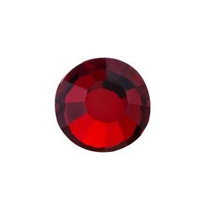 vasalható sötét vörös strasszkő