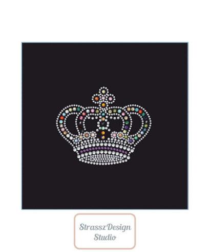 Vasalható strassz korona minta